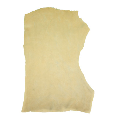 BUFFALO SPLIT SUEDE LEATHER - PALOMINO ( 4 oz)