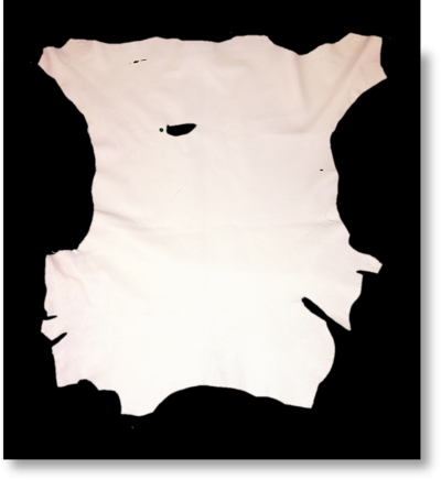 BUCKSKIN - WHITE (SECOND QUALITY)