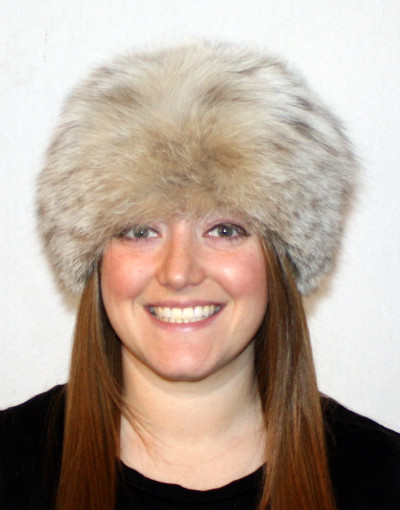 LYNX FUR PILL BOX HAT