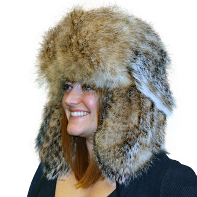 BADGER FUR RUSSIAN TROOPER STYLE HAT