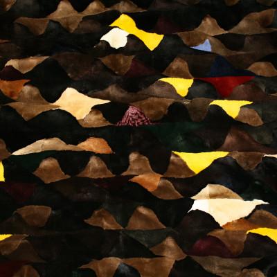 SHEARED MINK FUR BLANKET PLATE - #2007