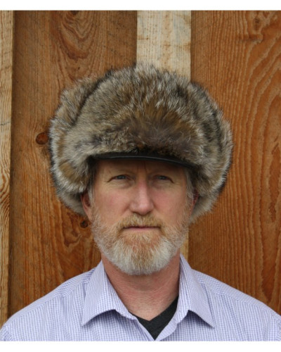COYOTE FUR ALASKAN TRAPPER HAT