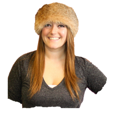 BOBCAT FUR | FUR NECK WARMER | FUR NECK COLLAR