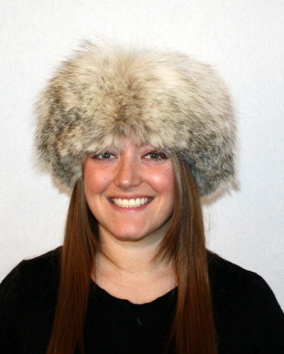 BADGER FUR PILL BOX HAT