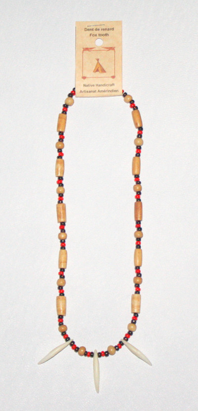 Fox Tooth Necklace #228