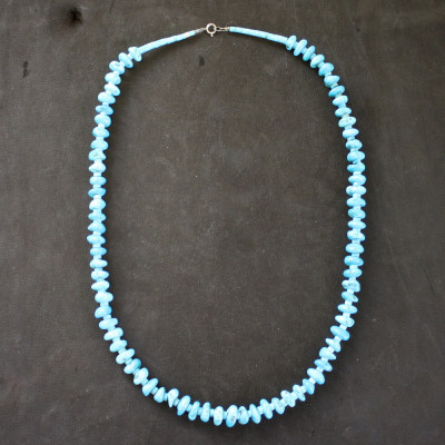 Shifting Turquoise Necklace