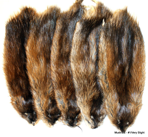 Glacier Wear Muskrat Pelts For Sale