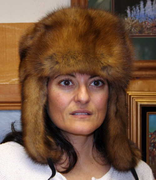 SABLE FUR RUSSIAN TROOPER HAT