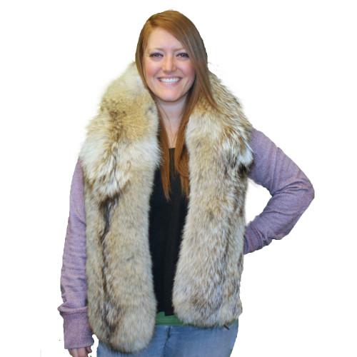 Coyote Fur Scarf #SF