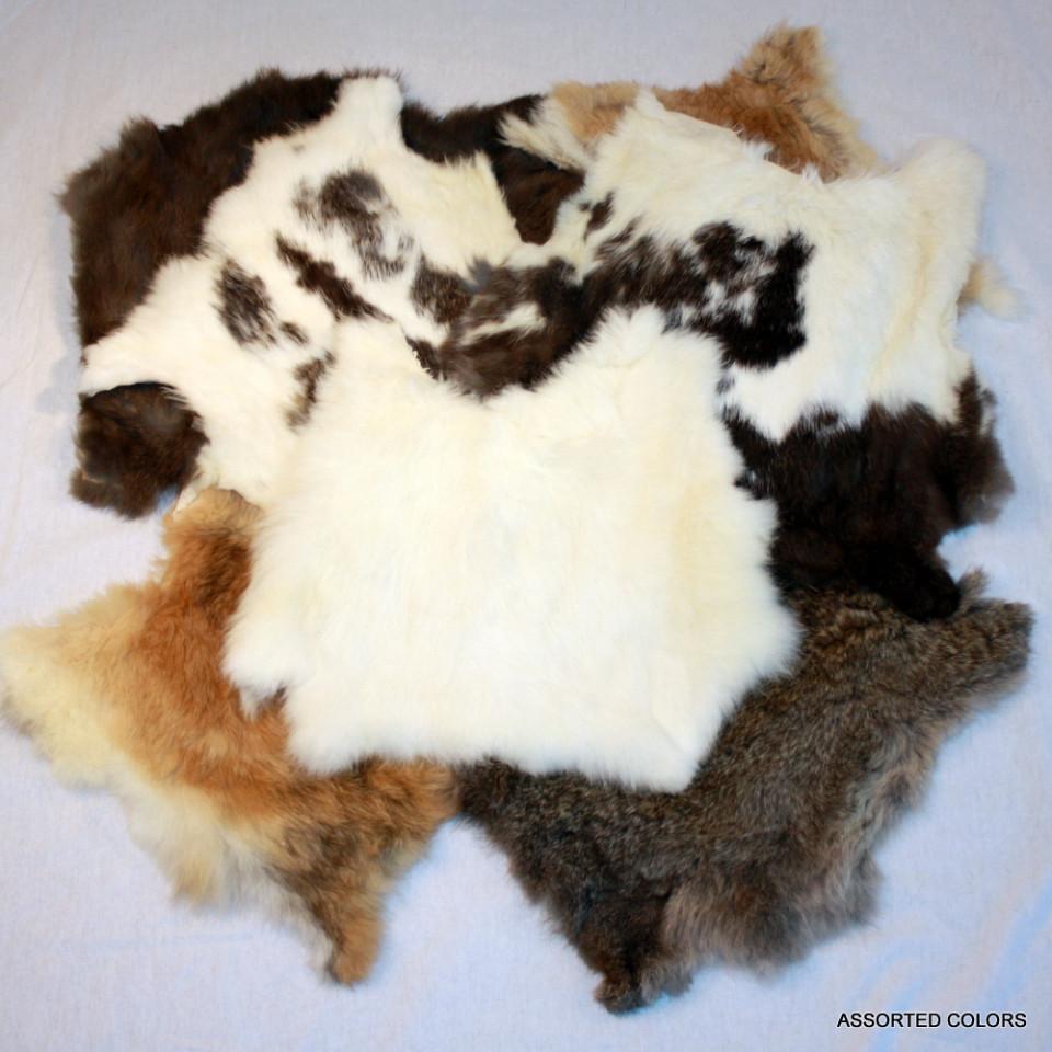 glacier wear tanned rabbit hides for sale. Black Bedroom Furniture Sets. Home Design Ideas