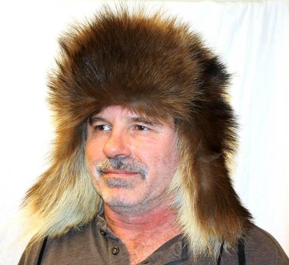 Glacier Wear Wolverine Trooper Style Fur Hat For Sale