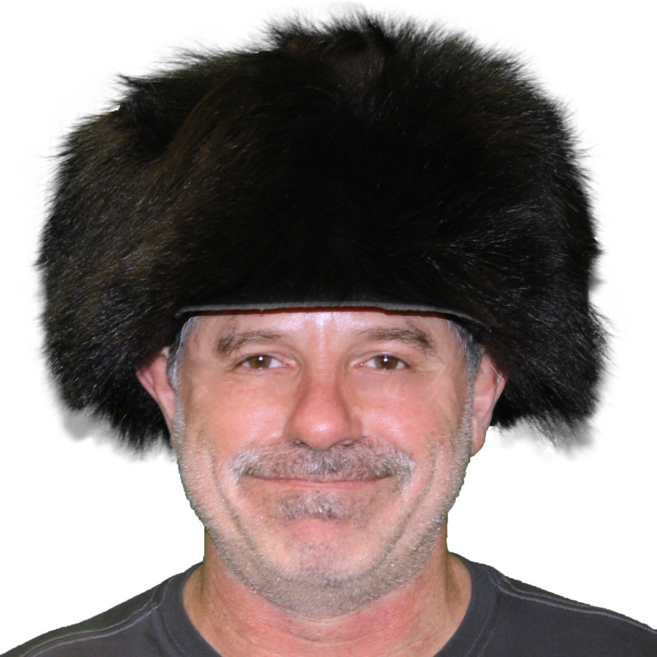Black Bear Free Trapper Fur Hat For Sale