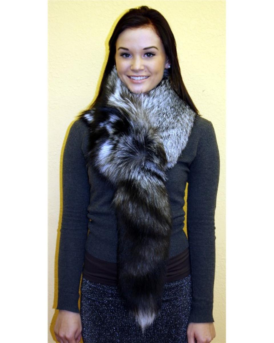 Silver Fox Fur Gloves | Mount Mercy University