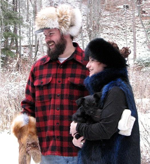 Glacier Wear Alaskan Trapper Style Fur Hats For Sale