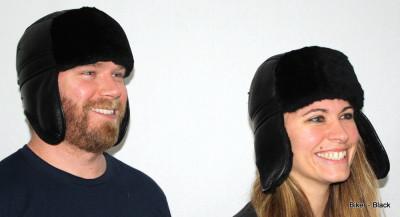 GENUINE SHEEPSKIN BIKER HAT