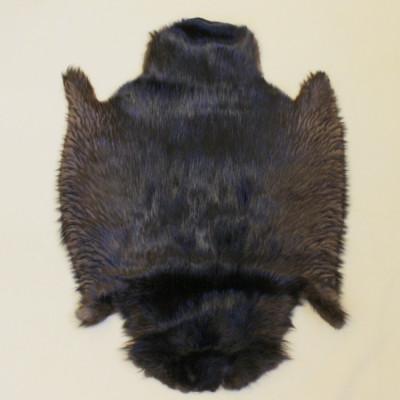 BEAVER PELT - NATURAL BLACK