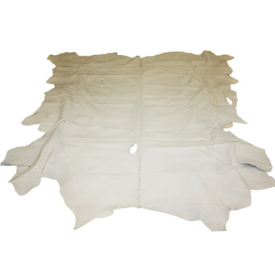 COW LEATHER - EGGSHELL WHITE