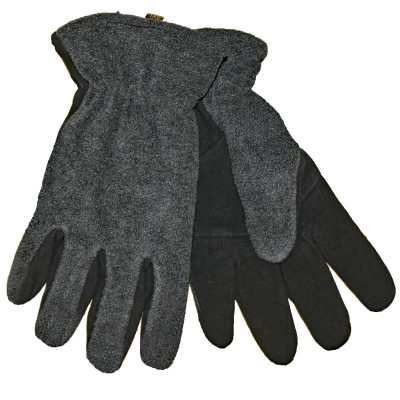MEN'S & WOMEN'S DEERSKIN SUEDE & FLEECE GLOVES