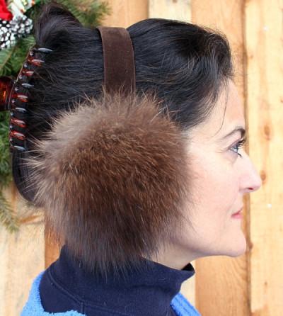 Fisher Fur Ear Muffs