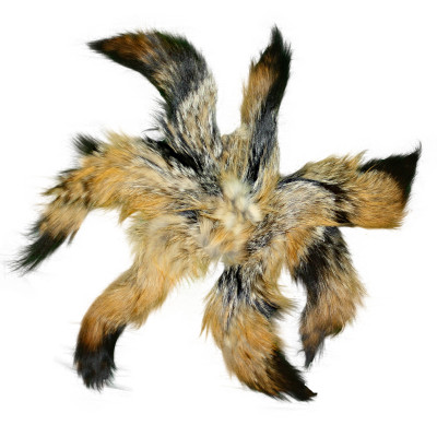 GRAY FOX TAILS/KEYCHAINS