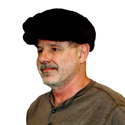 SHEARED BEAVER FUR GOLF/CABBIE CAP
