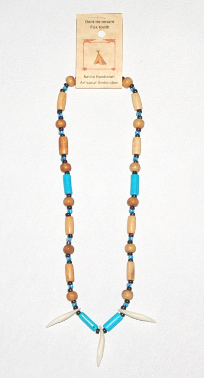 Fox Tooth Necklace #228B