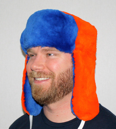 DENVER BRONCOS FUR TROOPER STYLE HAT
