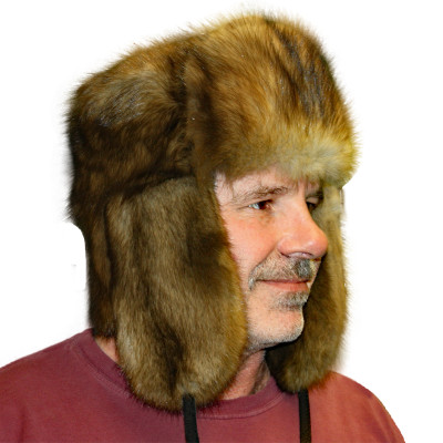 SABLE FUR RUSSIAN TROOPER STYLE HAT