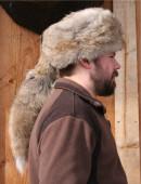 e0dacceb9d8 Glacier Wear - Coyote Daniel Boone Style Fur Hat For Sale