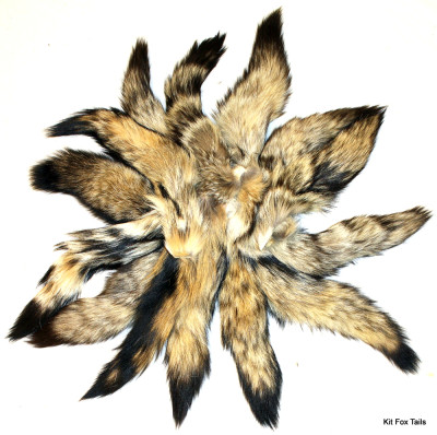 SECOND QUALITY KIT FOX TAILS