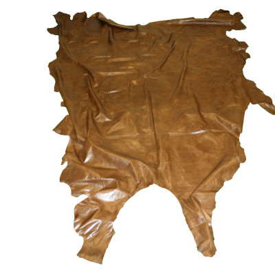 COW LEATHER - SHINY BROWN