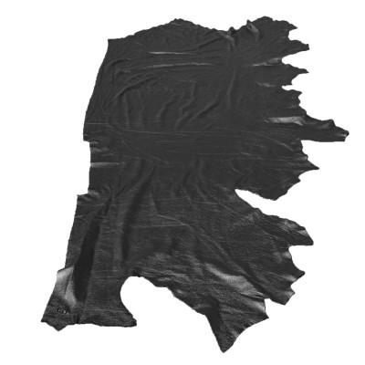 COW LEATHER - PEBBLE BLACK (SIDES)