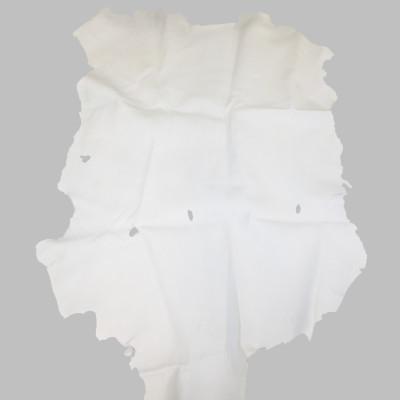 SECOND QUALITY BUCKSKIN - WHITE (4-5 OZ)