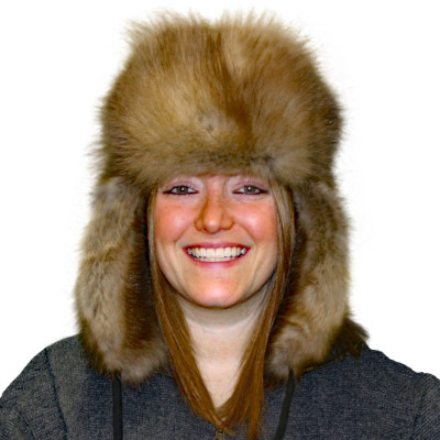 SABLE FUR RUSSIAN TROOPER STYLE HAT - IMPORTED RUSSIAN SABLE