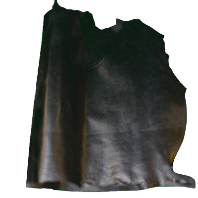 HEAVY COW LEATHER - BLACK (SIDES)