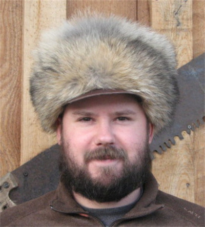 COYOTE FUR FREE TRAPPER HAT