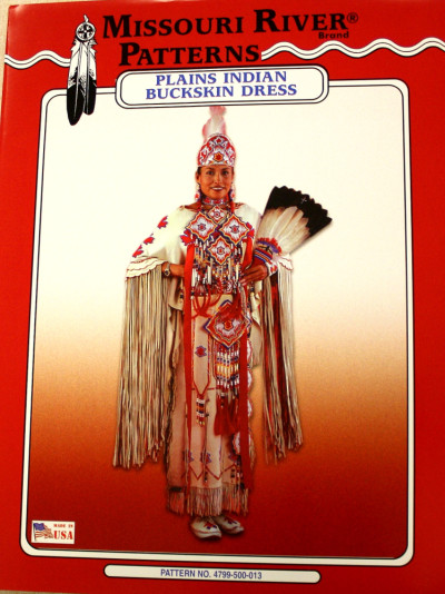 PLAINS INDIAN BUCKSKIN DRESS