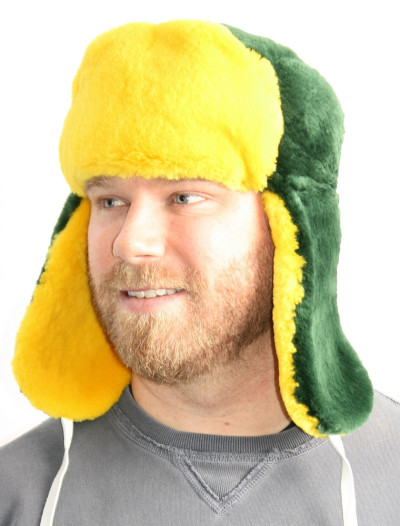 GREEN BAY PACKERS FUR TROOPER STYLE HAT