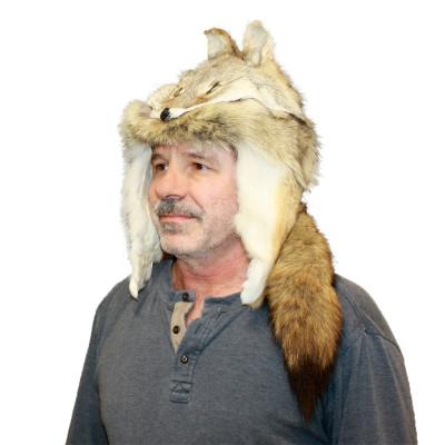 COYOTE FUR MOUNTAIN MAN HAT
