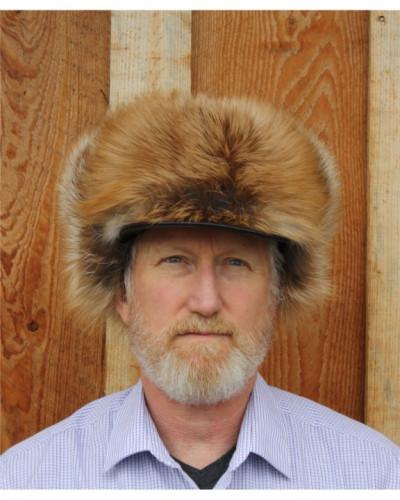 RED FOX FUR ALASKAN TRAPPER HAT