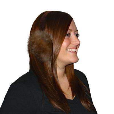 Sable Fur Ear Muffs