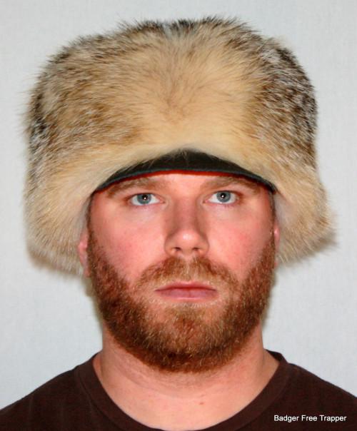 BADGER FUR FREE TRAPPER HAT