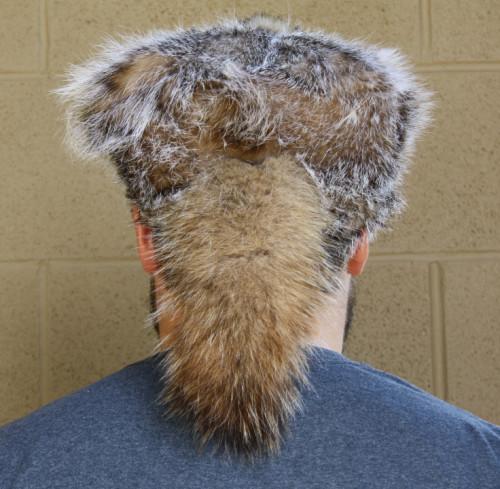 BADGER FUR DAVY CROCKETT HAT