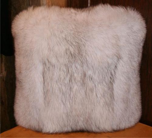 c68db10f8af Glacier Wear - Blue Fox Fur Pillows For Sale