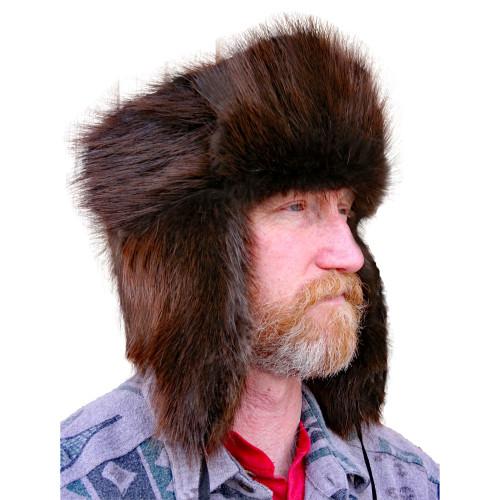 Glacier Wear - Beaver Trooper Style Fur Hat For Sale e35e9c67a979
