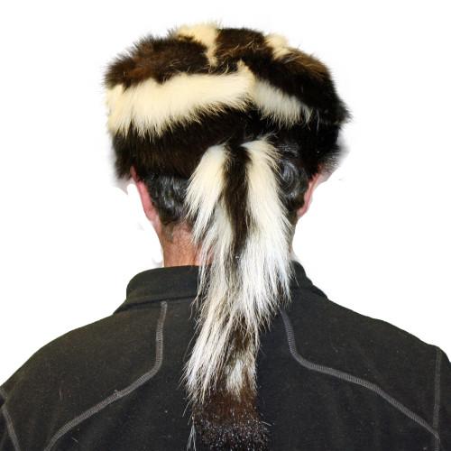 SKUNK FUR DAVY CROCKETT HAT