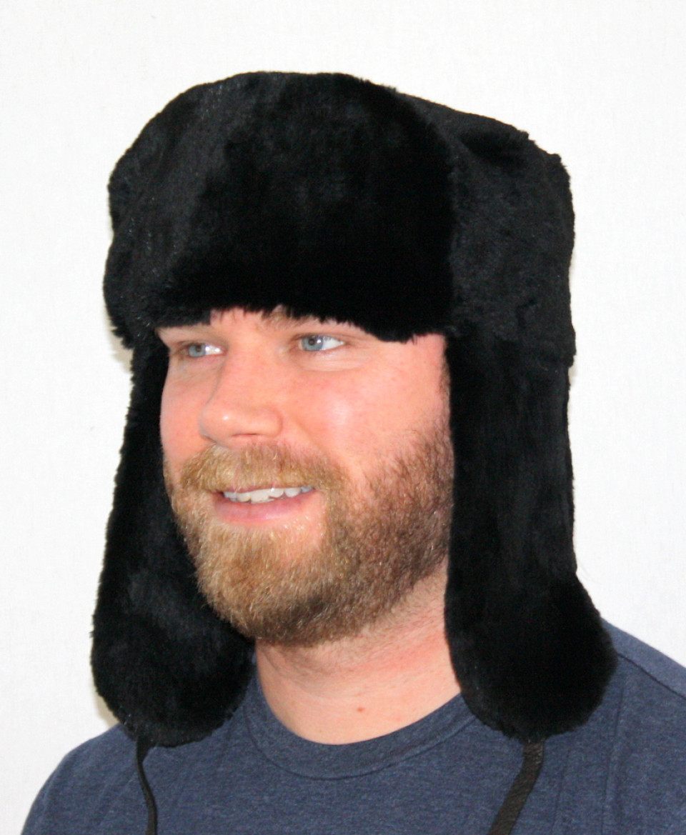 Glacier Wear - Dyed Sheared Beaver Trooper Style Fur Hat For Sale 3364923942c